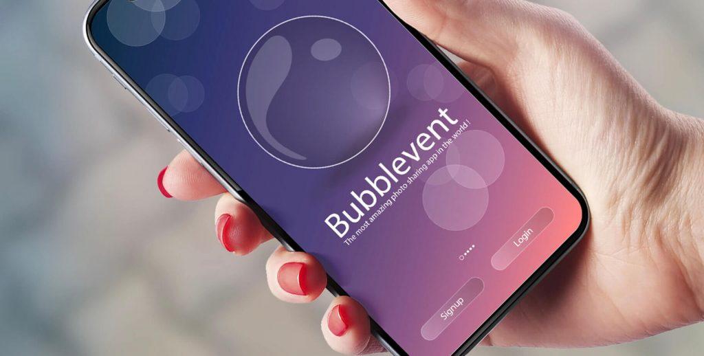 ux-ui-design-graphique-bubblevent-photo-app-agence-n